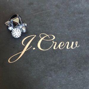 J.Crew Pewter Statement Ring